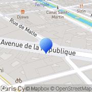 Carte de France Gestion Paris, France