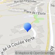Carte de C.E.E SA Bondoufle, France