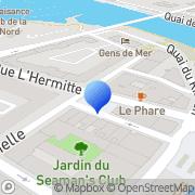 Carte de Dunkerque Expansion S.A.R.L. Coudekerque-Branche, France