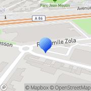 Carte de Eurocam Electronic S.A. La Courneuve, France