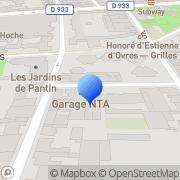 Carte de Calder Chauffage S.A.R.L. Pantin, France