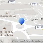 Carte de Catteau Etablissements S.A. Aire-sur-la-Lys, France