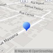 Carte de Etatlux S.A.R.L. Le Bourget, France