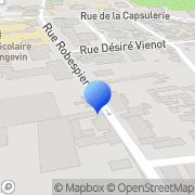Carte de Eurosab France S.A.R.L. Bagnolet, France