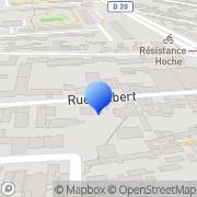 Carte de Boulesteix S.A. Montreuil, France