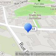Carte de Alma Services S.A.R.L. Maisons-Alfort, France