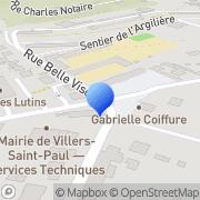 Carte de Barbaut S.A. Villers-Saint-Paul, France