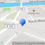 Carte de Bergerat Monnoyeur Manutention S.A.S. Bonneuil-sur-Marne, France
