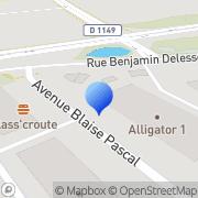 Carte de E. A. U. S.A. - Exploitation Adoucisseur Unité Moissy-Cramayel, France
