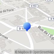 Carte de Bonneterie la Dunoise S.A. Dun-sur-Auron, France