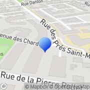 Carte de Etablissements Renoult S.A. Pontault-Combault, France
