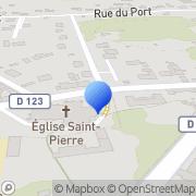 Carte de Saint Nicolas S.A. Verberie, France