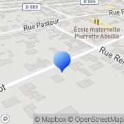 Carte de Faure S.A. Lacroix-Saint-Ouen, France