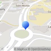 Carte de Gerling NAMUR Assurances du Crédit S.A. Compiègne, France