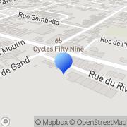 Carte de Descamps S.A. Nieppe, France