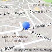 Carte de Europcar S.A. Perpignan, France