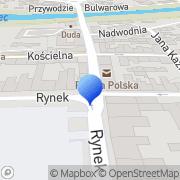 Mapa Transdrew Nowy Targ, Polska