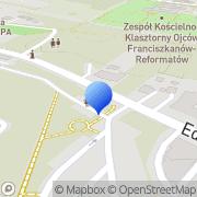 Mapa Solna Grota Wieliczka, Polska