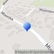 Mapa Murawski Dariusz. Projekty Raciąż, Polska
