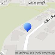 Karta Husaffären i Umeå Umeå, Sverige