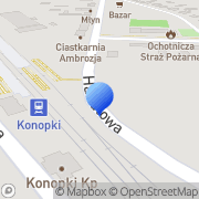 Mapa Piotruś Konopki, Polska