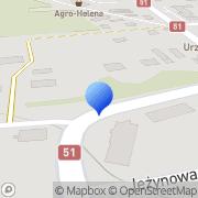 Mapa Gom s.c. Dywity, Polska