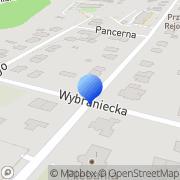 Mapa M-Sat Elektronik Kielce, Polska