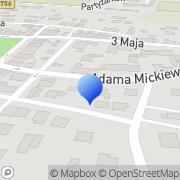Mapa Dodowska Anna. Art. biurowe Stopnica, Polska