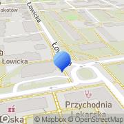 Mapa AQQ Warszawa, Polska