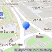 Mapa Desen Warszawa, Polska