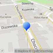 Mapa Ogólnopolskie Towarzystwo Budownictwa Społecznego. Sp. z o.o. Warszawa, Polska