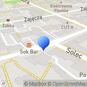 Mapa Goldfinger. Sp. z o.o. Warszawa, Polska