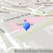Mapa Tradedoubler Sp. z o.o. Warszawa, Polska