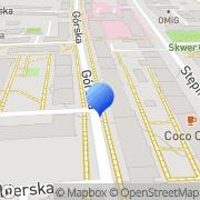 Mapa Golberg J. Elektronika Warszawa, Polska