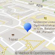 Mapa Golus Hanna. Art. papiernicze Warszawa, Polska
