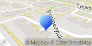 """Mapa """"Danbud"""" Daniel Buliński Warszawa, Polska"""