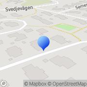 Karta L A Verktyg & Maskin AB Skellefteå, Sverige
