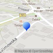 Mapa Gdula Zbigniew. Elektroinstalatorstwo Konstancin-Jeziorna, Polska