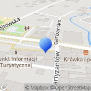 Mapa Delicja Iłża, Polska