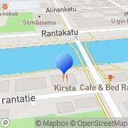 Kartta Uudenkaupungin Seudun Työttömät ry Uusikaupunki, Suomi