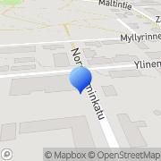 Kartta Uudenkaupungin Sosialidemokraatit ry Uusikaupunki, Suomi