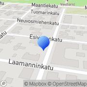 Kartta Naisten ja Tyttöjen Kristillinen Yhdistys (NTKY) Pori, Suomi
