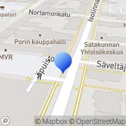 Kartta Kauppahallin Bingo Pori, Suomi