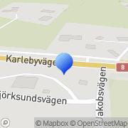 Kartta Bönehusföreningen Betesda i Kuni rf Kuni, Suomi