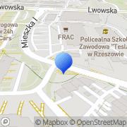 Mapa GMK Autoparts Rzeszów, Polska