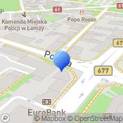 Mapa Piórkowski Ryszard, mgr inż., elektryk. Projektowanie Łomża, Polska