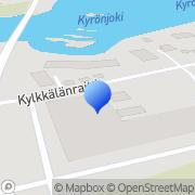 Kartta Yhyres Kehittämisyhdistys ry Tervajoki, Suomi