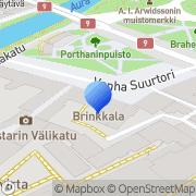 Kartta Suomi-Venäjä-Seura Turun piiri Turku, Suomi
