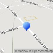 Karta Rånebygdens Ridklubb Råneå, Sverige