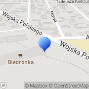 Mapa Drewno Jedwabne, Polska
